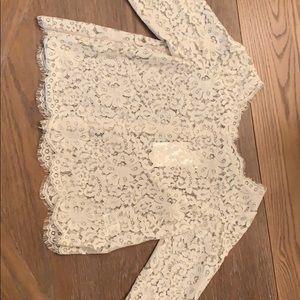 Joie lace blouse